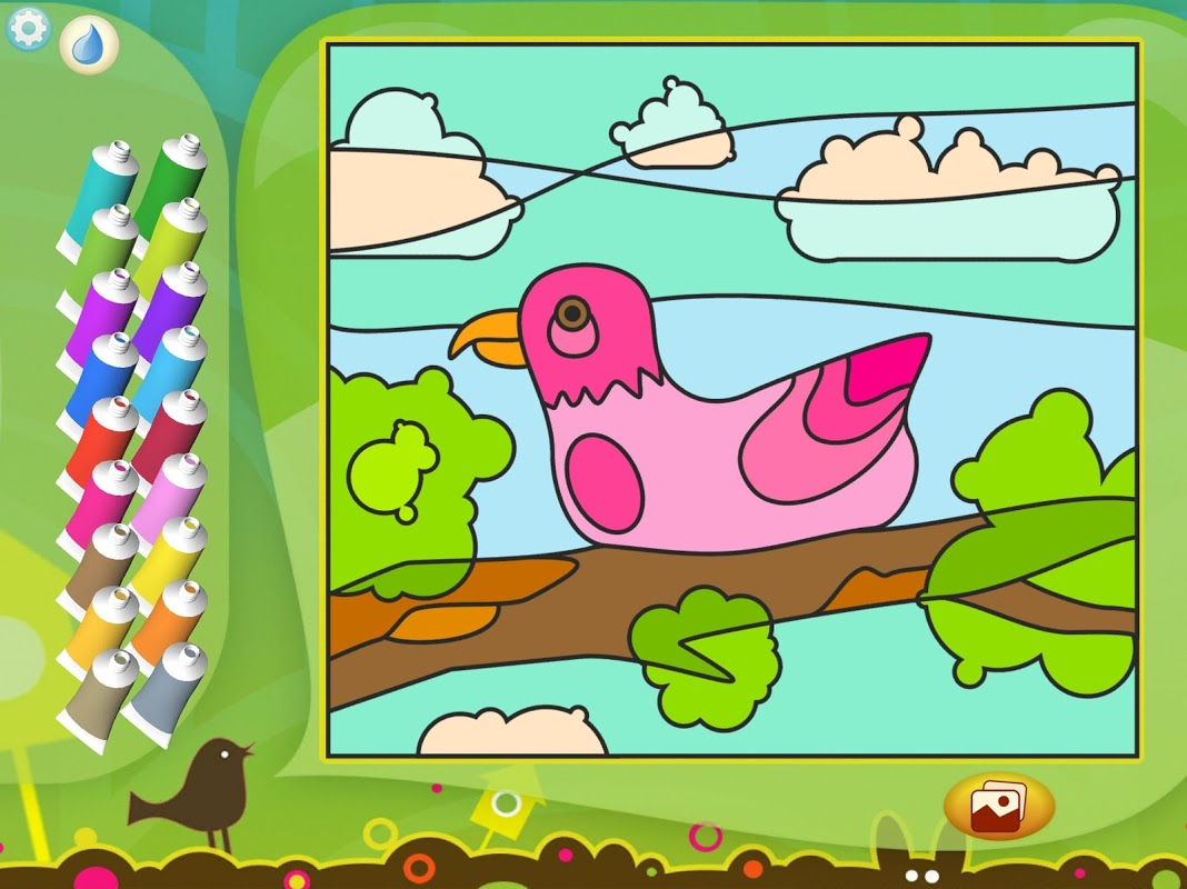 Android Paint by Numbers - Animals Screen 5