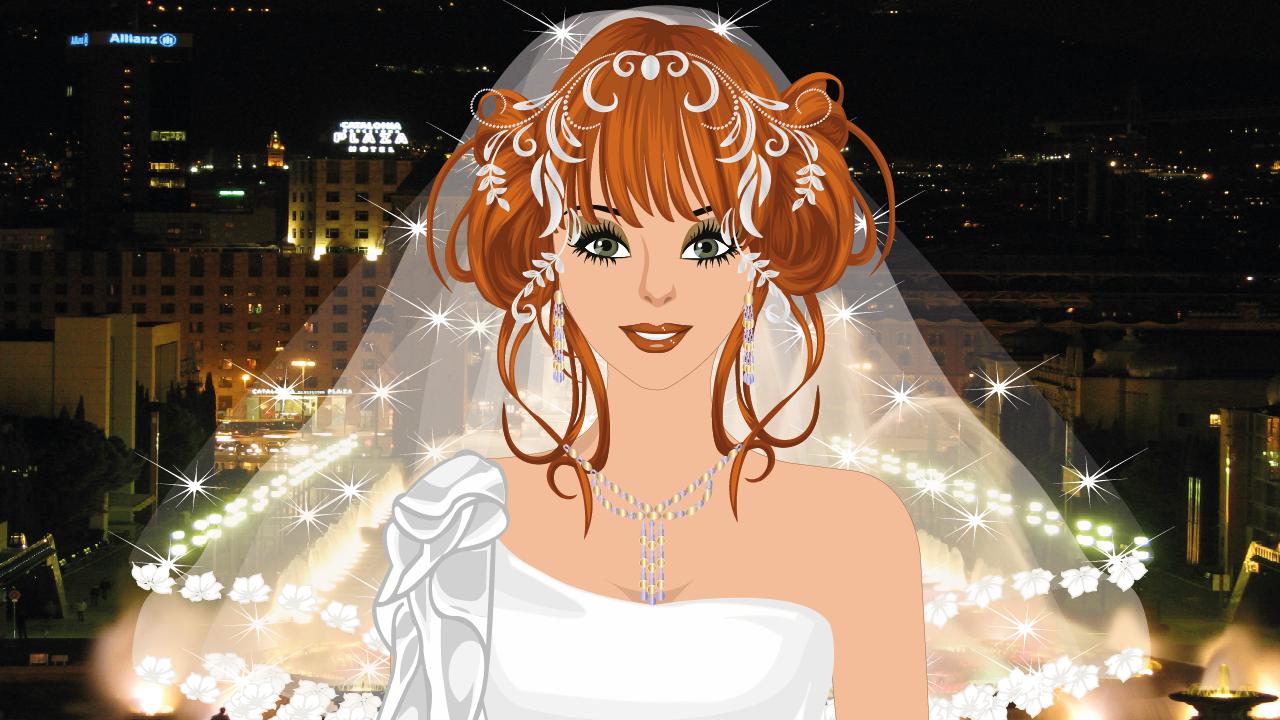 Android Barcelona Wedding Makeup Game Screen 2