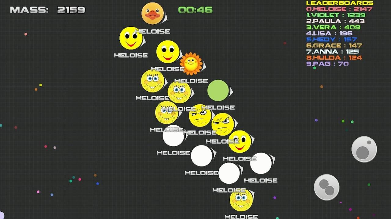 Android balls.io war like Agar.io Screen 4