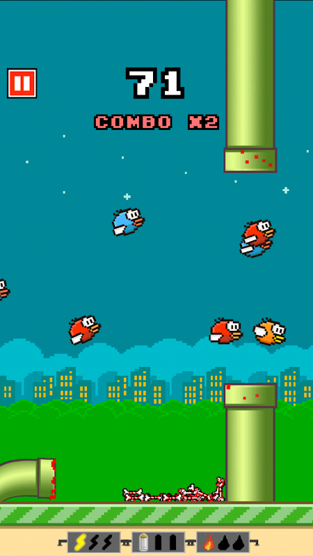Android Flappy Crush Screen 2