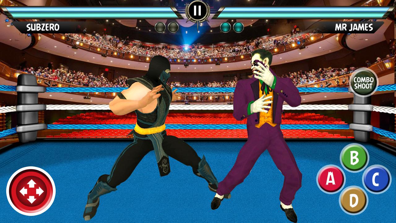Android Wrestling Grand Arena : Live Wrestling Evolution Screen 3