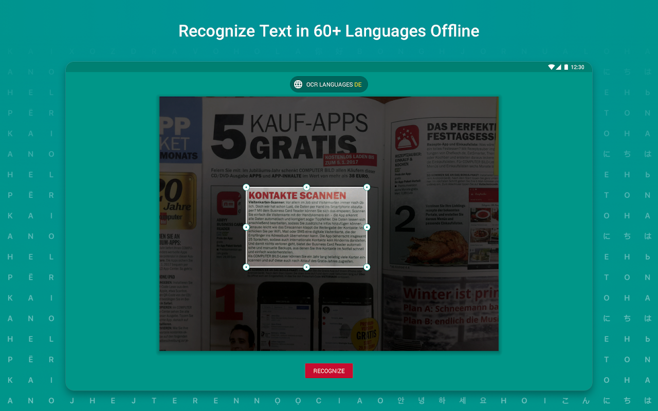 TextGrabber Offline Scan & Translate Photo to Text 2.5.3.3 Screen 7
