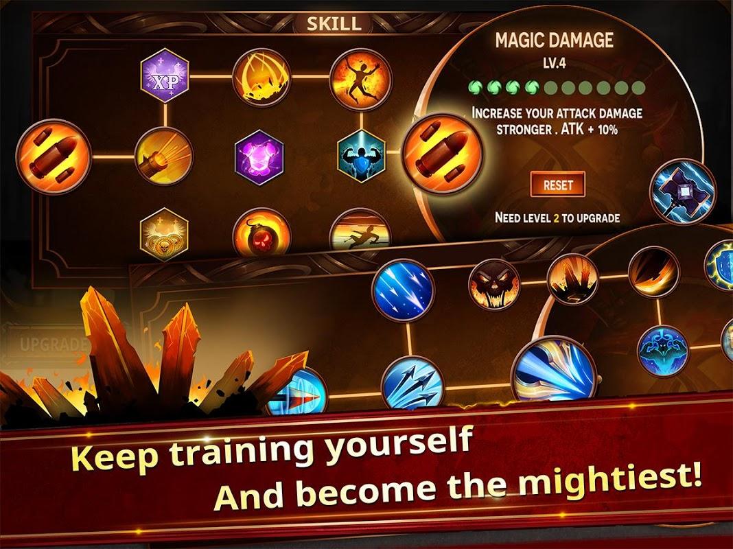Stickman Legends - Ninja Hero: Knight, Shooter RPG 2.0.2 Screen 3