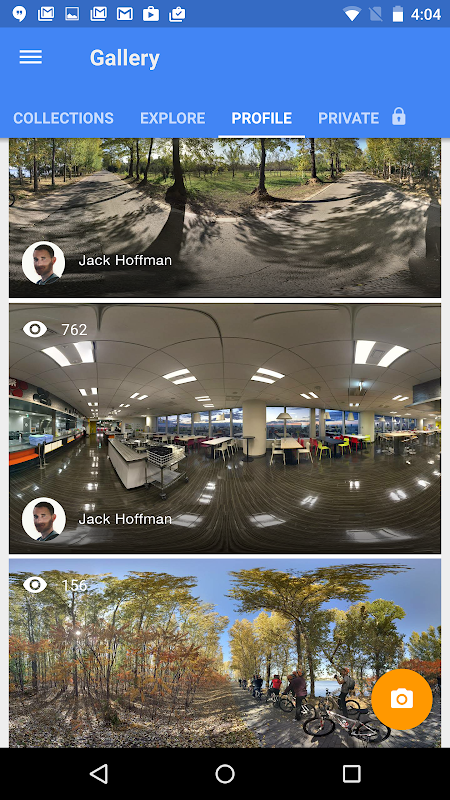 Google Street View 2.0.0.218515229 Screen 2