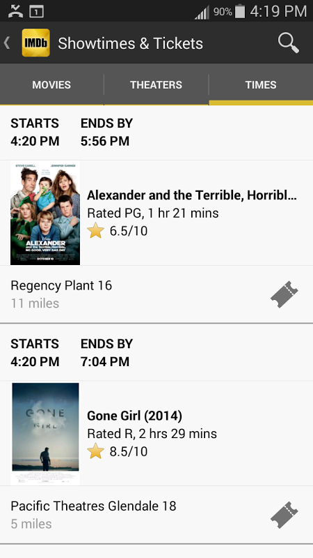 IMDb Movies & TV 2.3.2a Screen 11