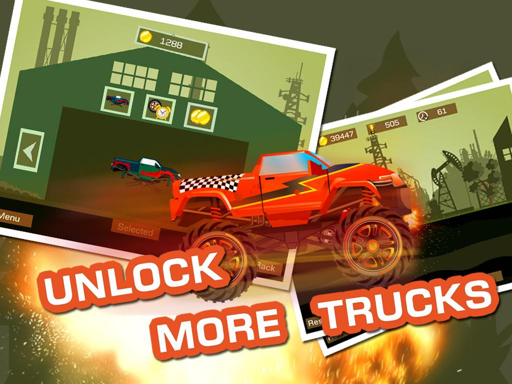 Mad Truck 2 -- monster truck hit zombies 3.71.9 Screen 7