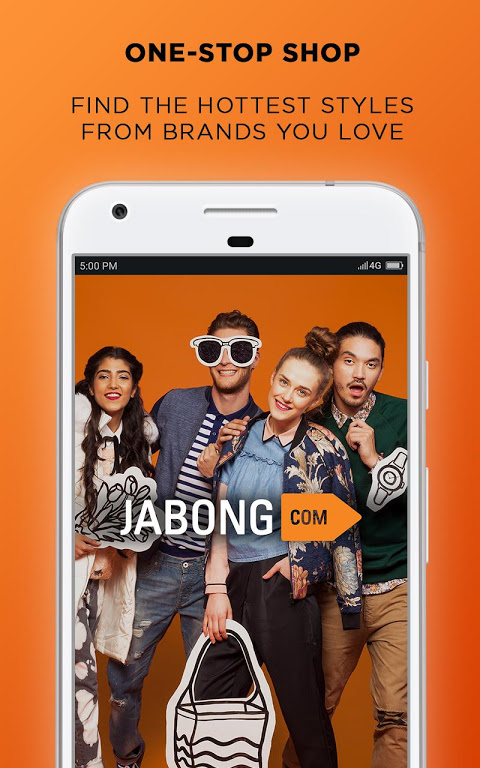 Android Jabong Online Shopping App Screen 1