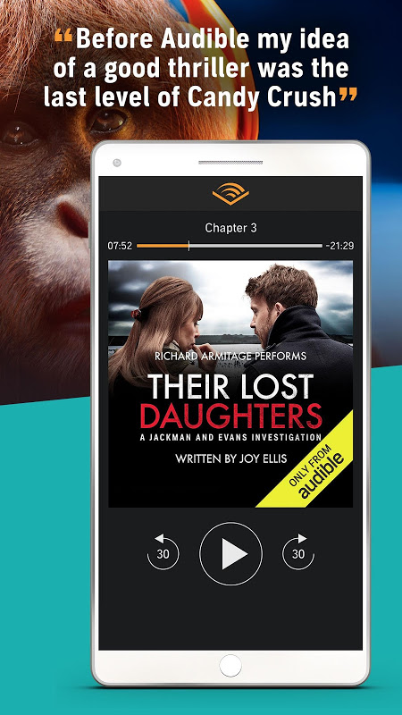Audiobooks from Audible 2.31.1 Screen 6