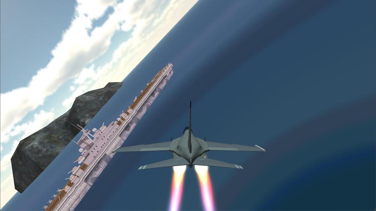 F18 Airplane Pilot Simulator 1.0 Screen 2