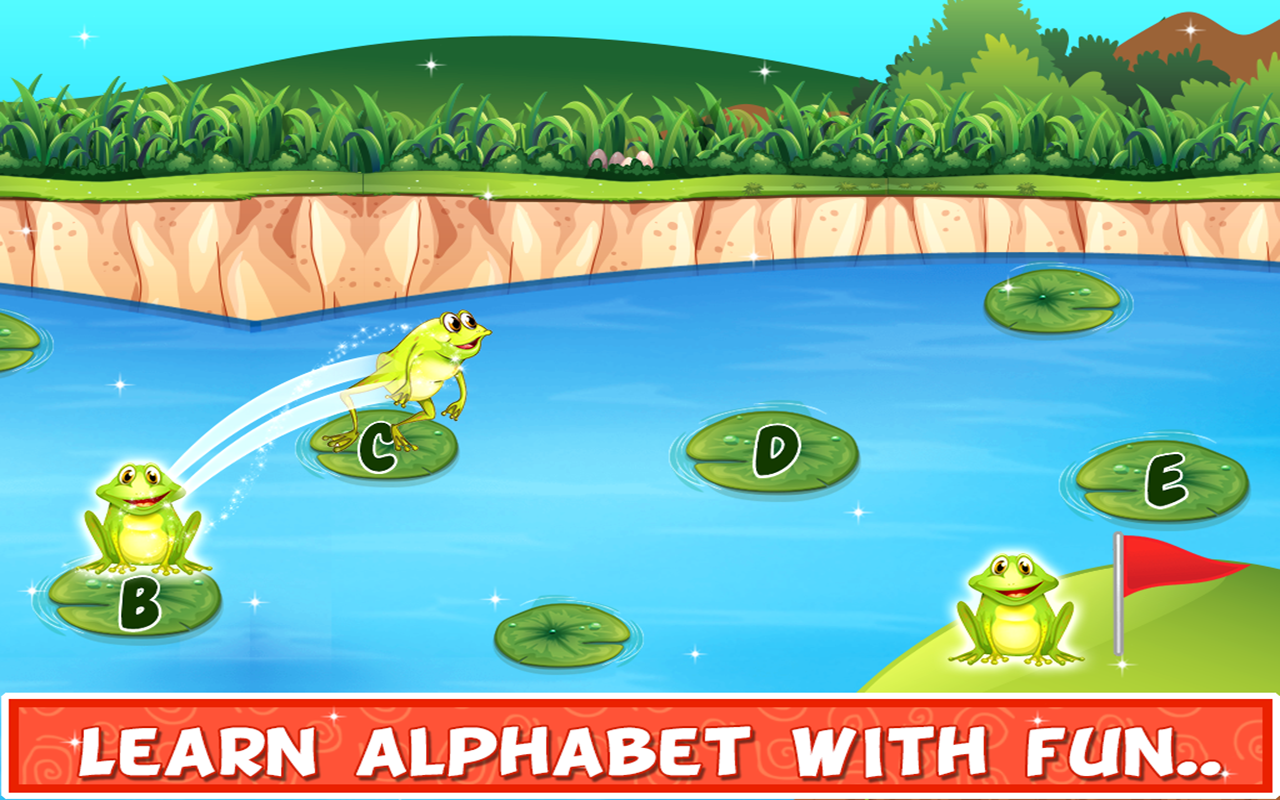 Kids Letters Learning - Educational Game for Kids 1.0.1 Screen 1