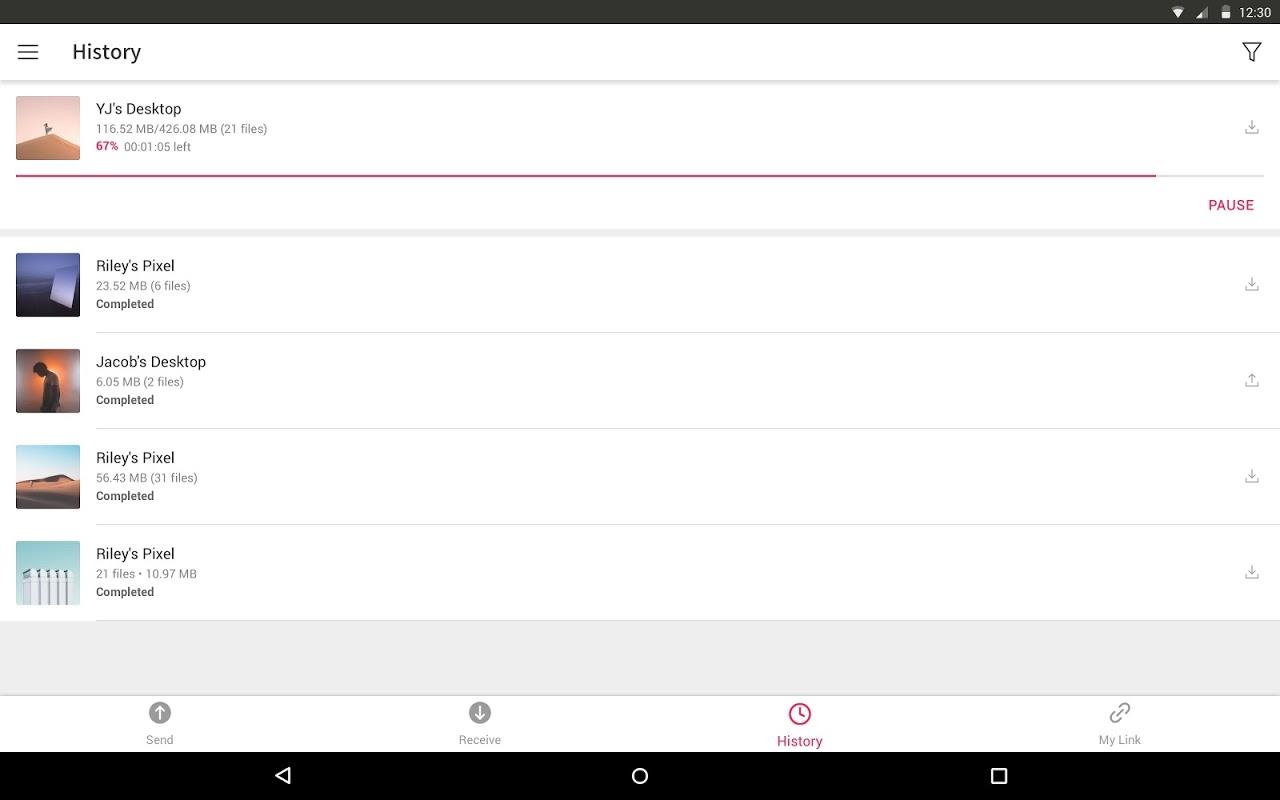 Send Anywhere (File Transfer) 9.1.11 Screen 8