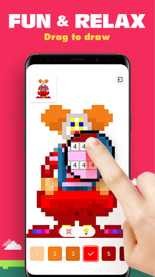 Android Kolor - Color by Number, Number Coloring Screen 5