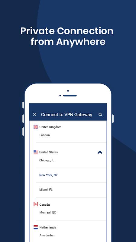 OpenVPN Connect – Fast & Safe SSL VPN Client 3.0.5 Screen 3