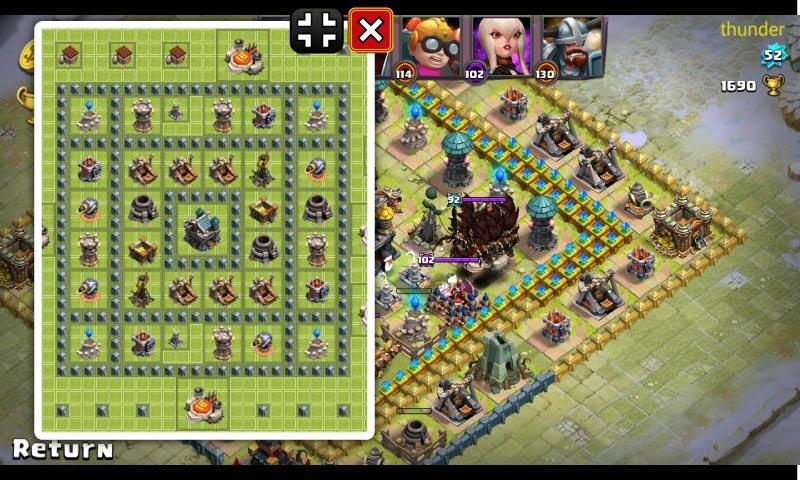 Android Clash of Lords 2 Builder Screen 4