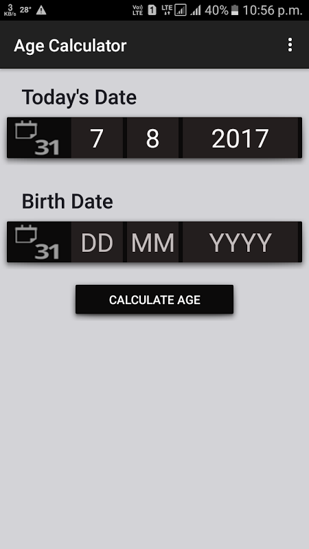 Age Calculator 11 APK Download by BM Developers | Android APK