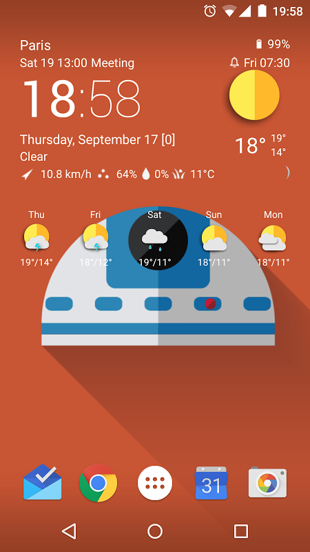 TCW material weather icon pack 0.50.04 Screen 9