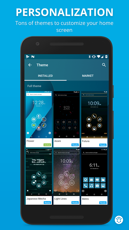 Android Smart Launcher 3 Screen 3