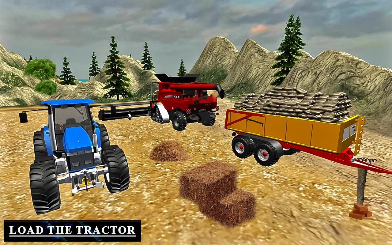 Heavy Tractor Trolley Driver Simulator Game 1.0 Screen 2