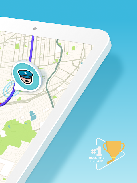 Waze - GPS, Maps, Traffic Alerts & Sat Nav 4.45.0.0 Screen 6