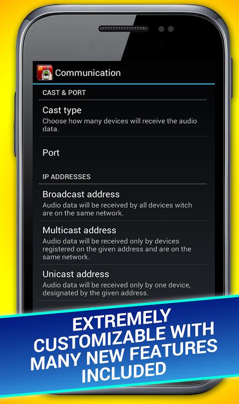Android WiFi Walkie Talkie Screen 2