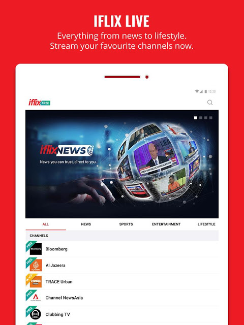 Android iflix Screen 6