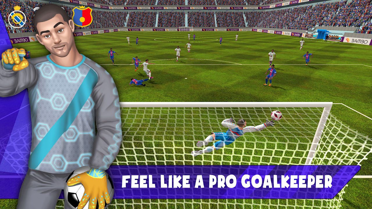 Android Save! Hero - Goalkeeper Football Game 2019 Screen 3