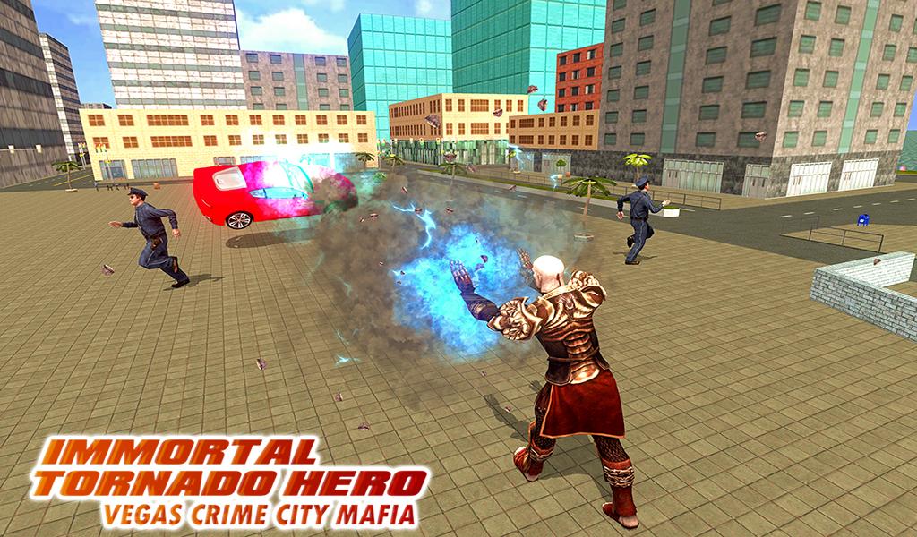 Android Immortal Tornado hero - Vegas Crime City Mafia Screen 8