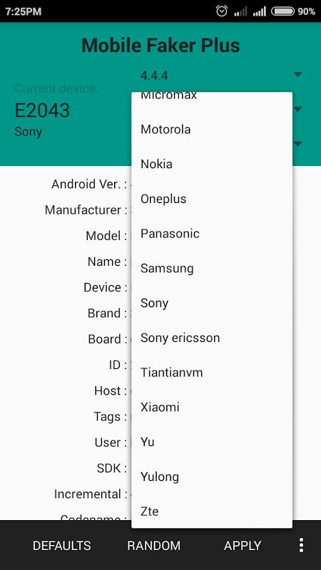 Mobile Faker Plus APKs | Android APK