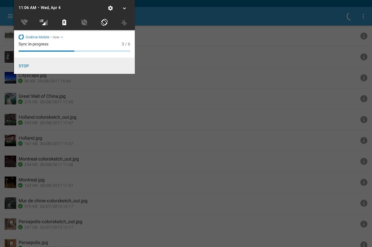 Oodrive Mobile 1.8 Screen 14