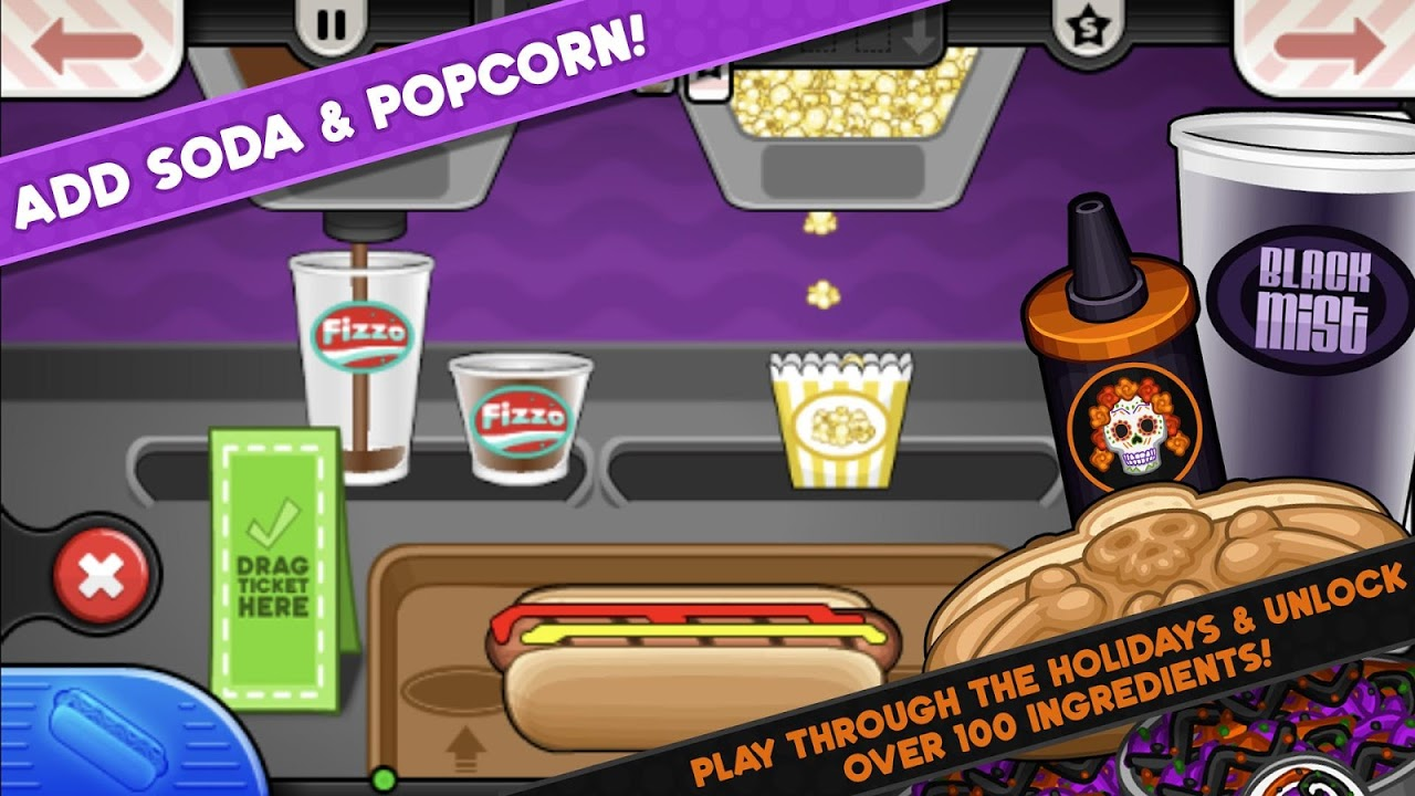 Papa's Hot Doggeria To Go! 1.0.0 Screen 3