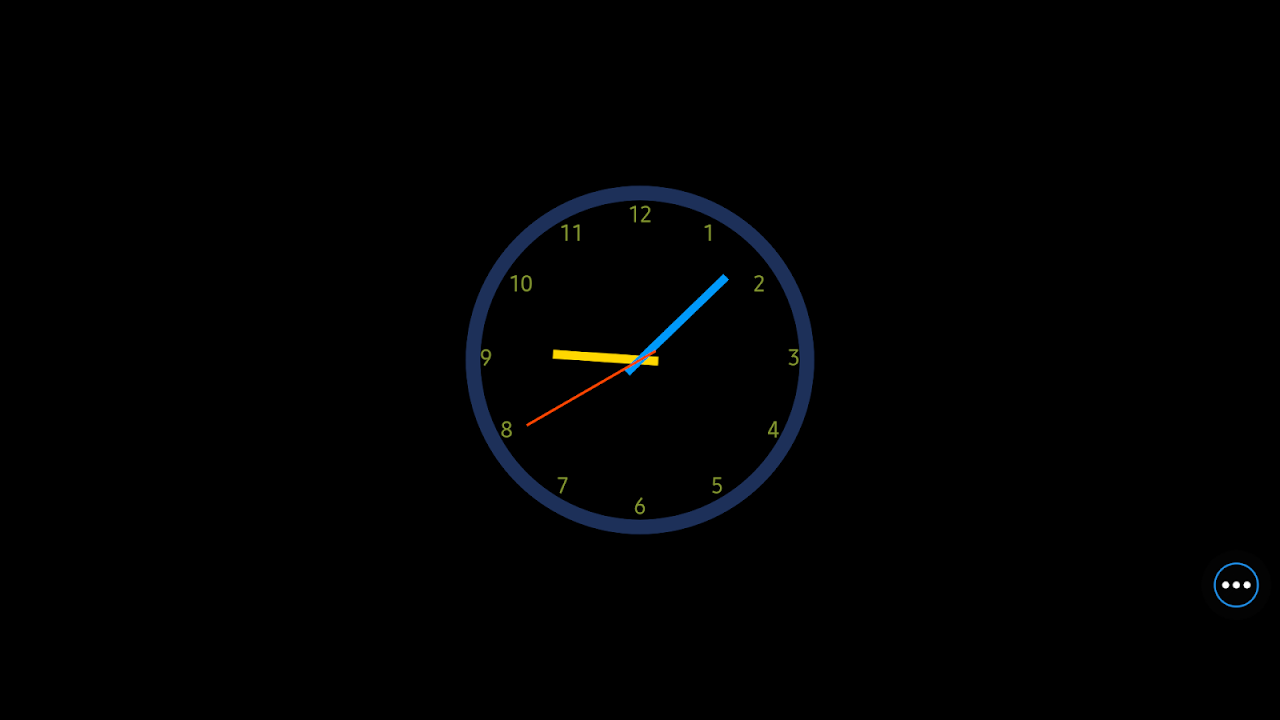 Android ClockView: Always OnㆍTalking Alarm Clock Screen 13