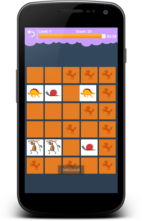 Android Animals Memory - Learn Animals Screen 5
