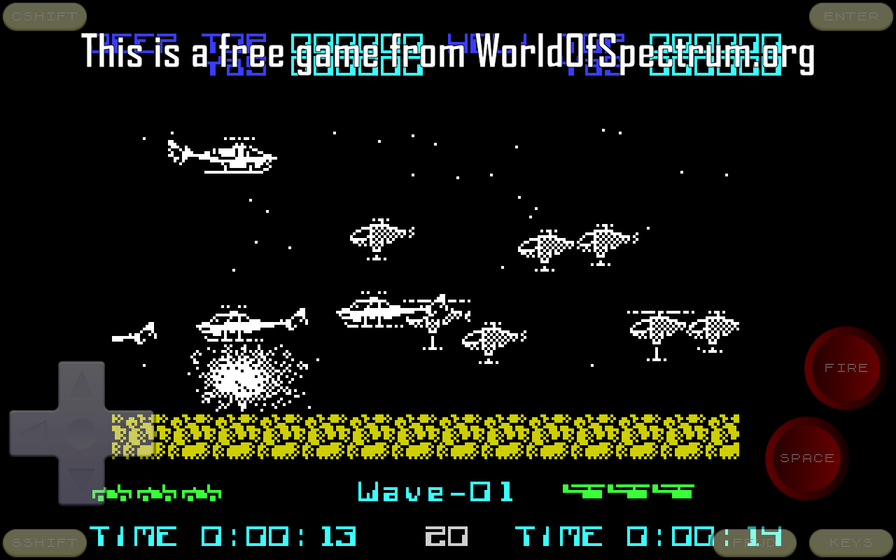 Android Speccy - ZX Spectrum Emulator Screen 1