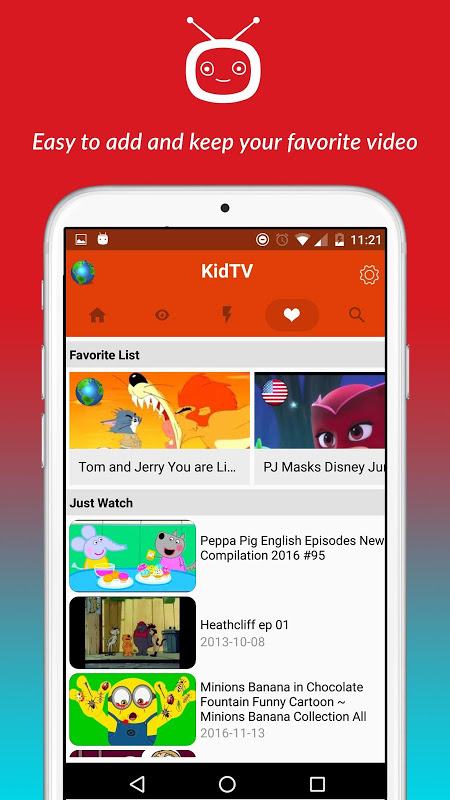 net.studio7.kidTV 1.1.5 Screen 3