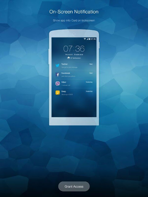 Android GO Locker - theme & wallpaper Screen 8