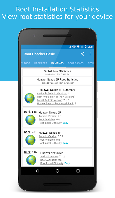 Root Checker 6.1.7 Screen 3
