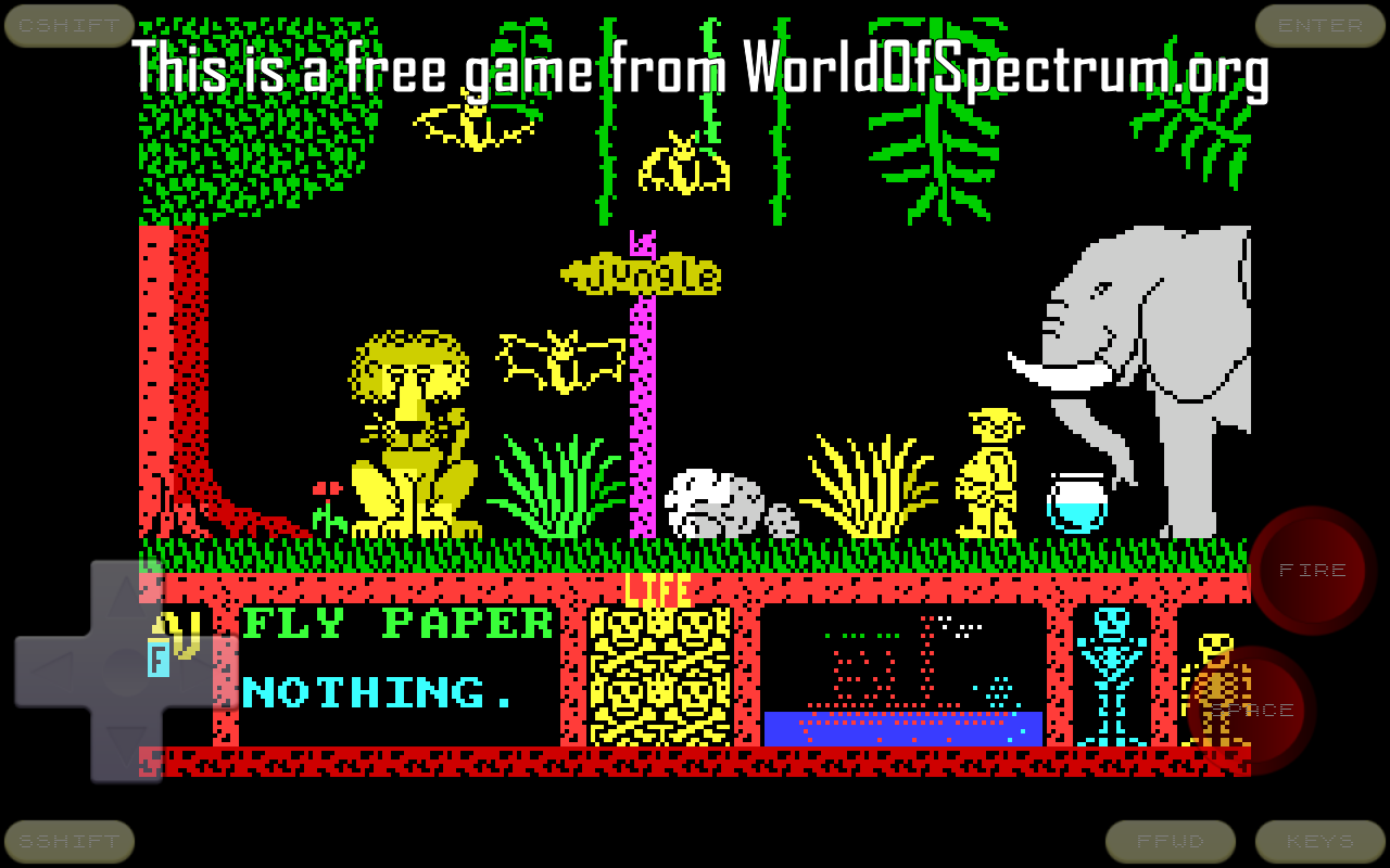 Android Speccy - ZX Spectrum Emulator Screen 10