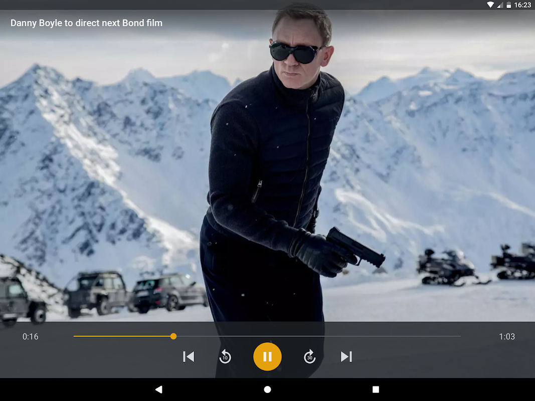 Android Plex Screen 7