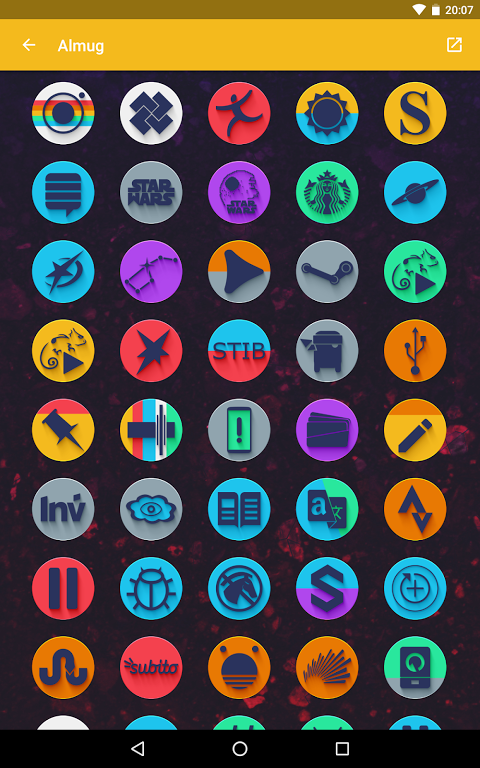 Android Almug - Icon Pack Screen 14
