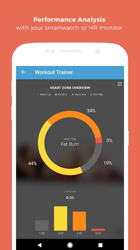 Android Workout Trainer: fitness coach Screen 10