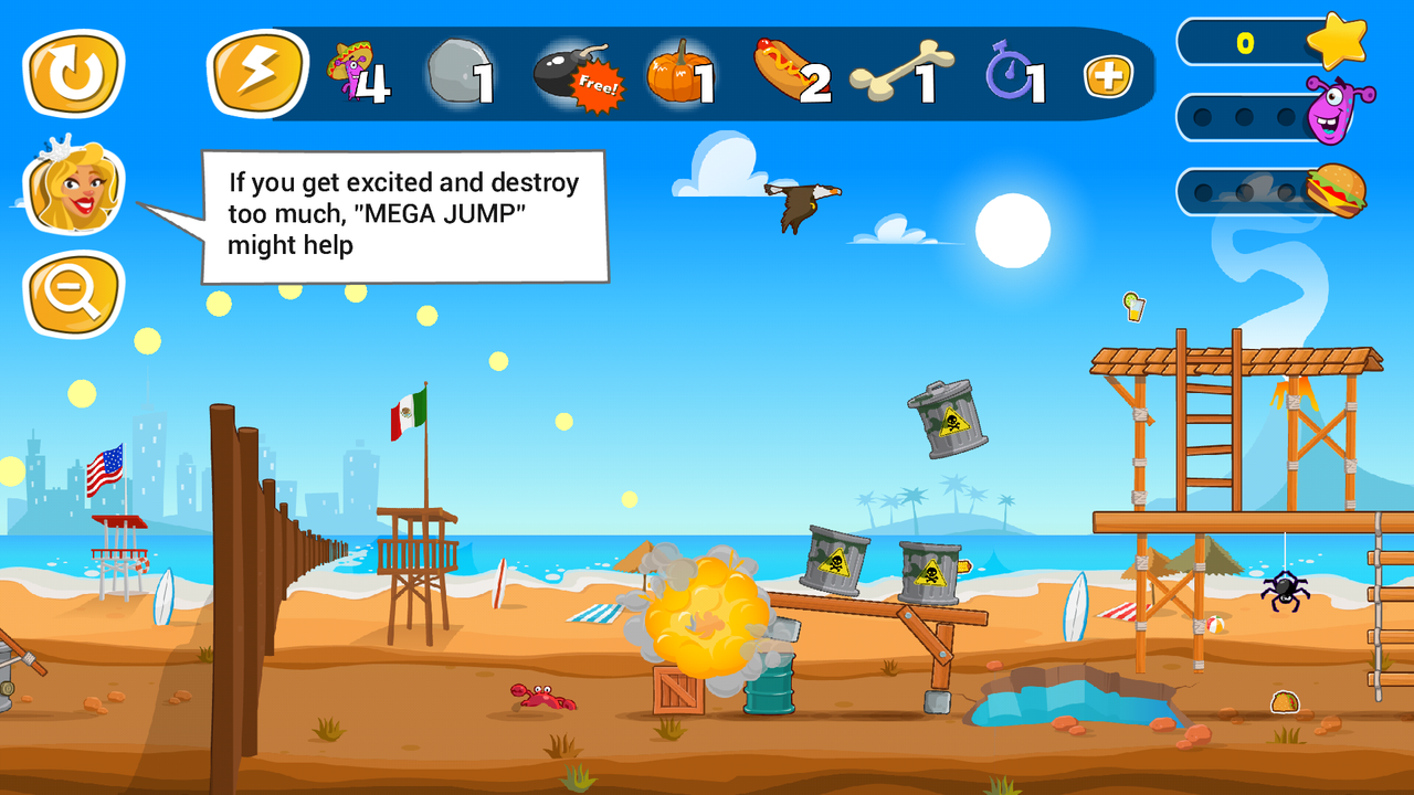 Android Jump the Wall - Mexico USA : Catapult, Jump, Escape - Appcoins ed. Screen 4