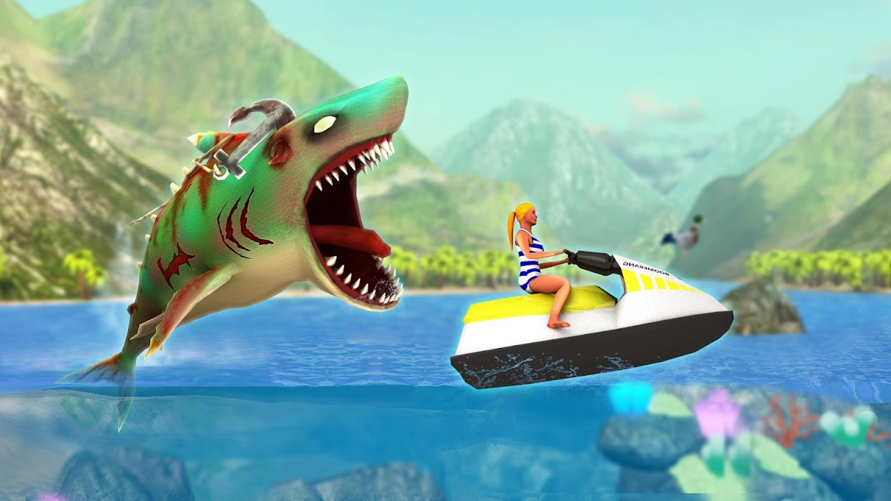 Double Head Shark Attack - Multiplayer 7.2c Screen 5