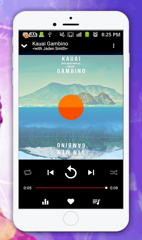 Audio Player(Mp3 Music Player) 1.5 Screen 3