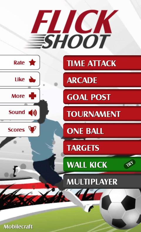 Flick Shoot (Soccer Football) 3.4.5 Screen 1