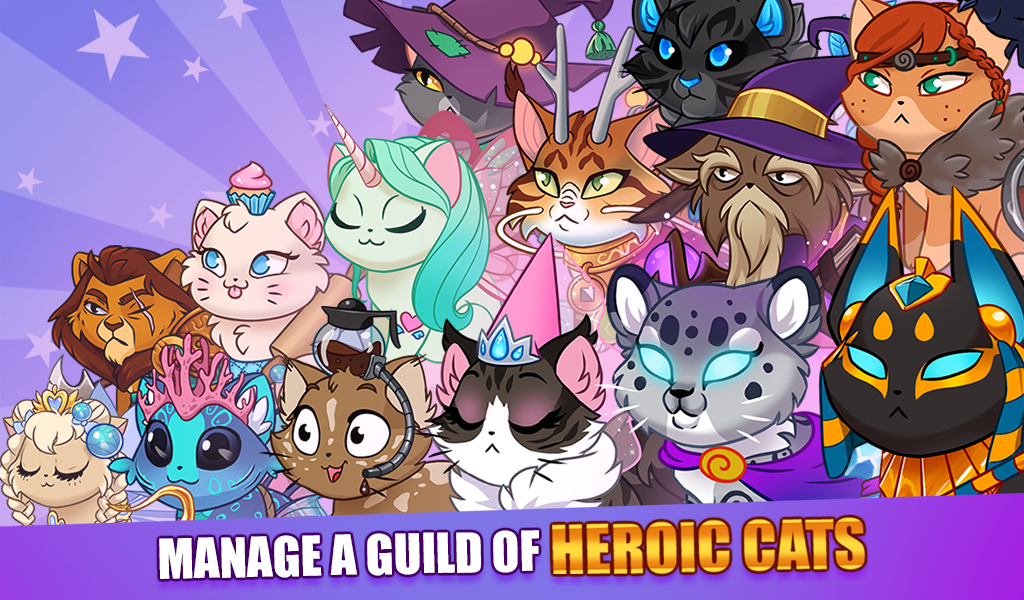 Android Castle Cats: Epic Story Quests Screen 6