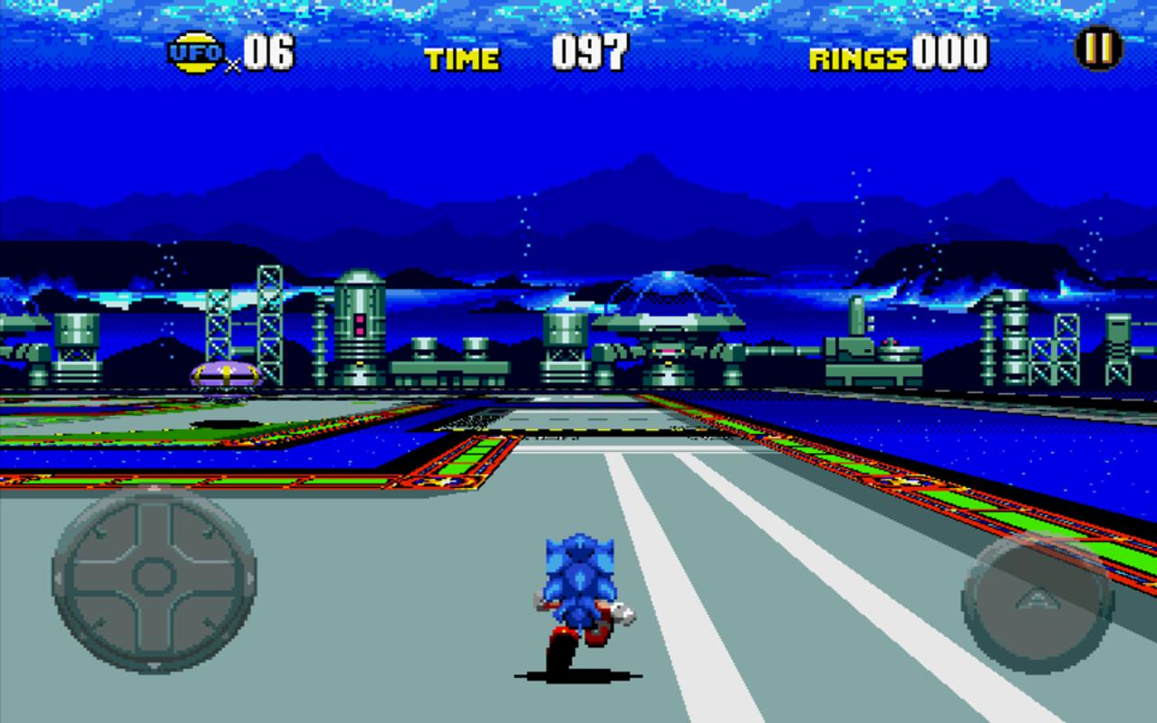 Android Sonic CD Screen 9