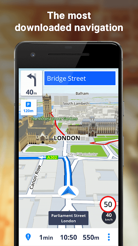 GPS Navigation & Maps Sygic 18.4.2 Screen 8