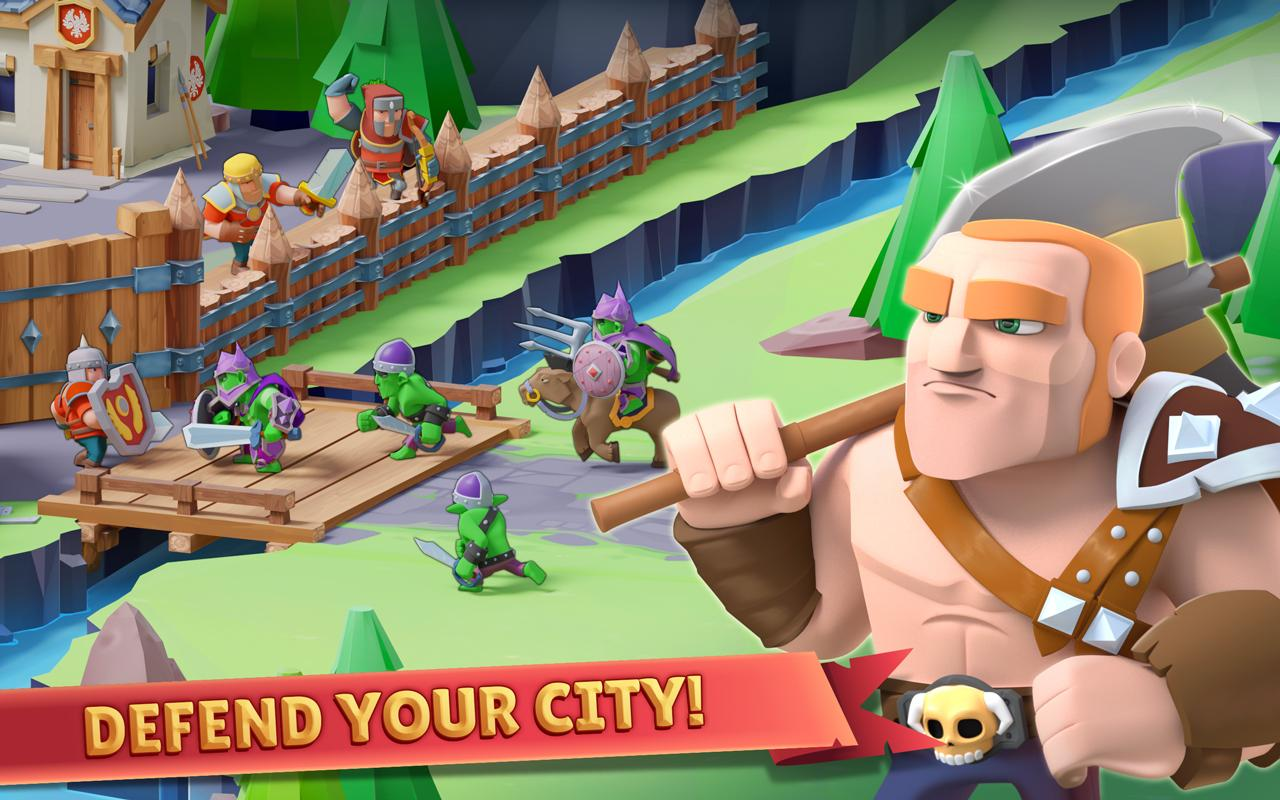 Android Game of Warriors Screen 3