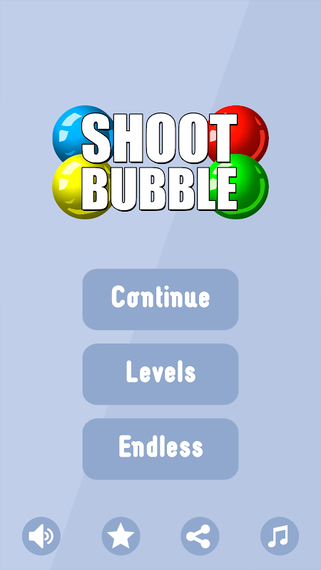 Android Shoot Bubble Screen 9