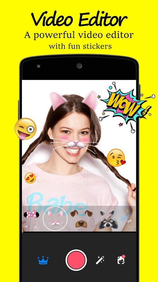 Android Editor De Fotos SnapChat Emoji Screen 3